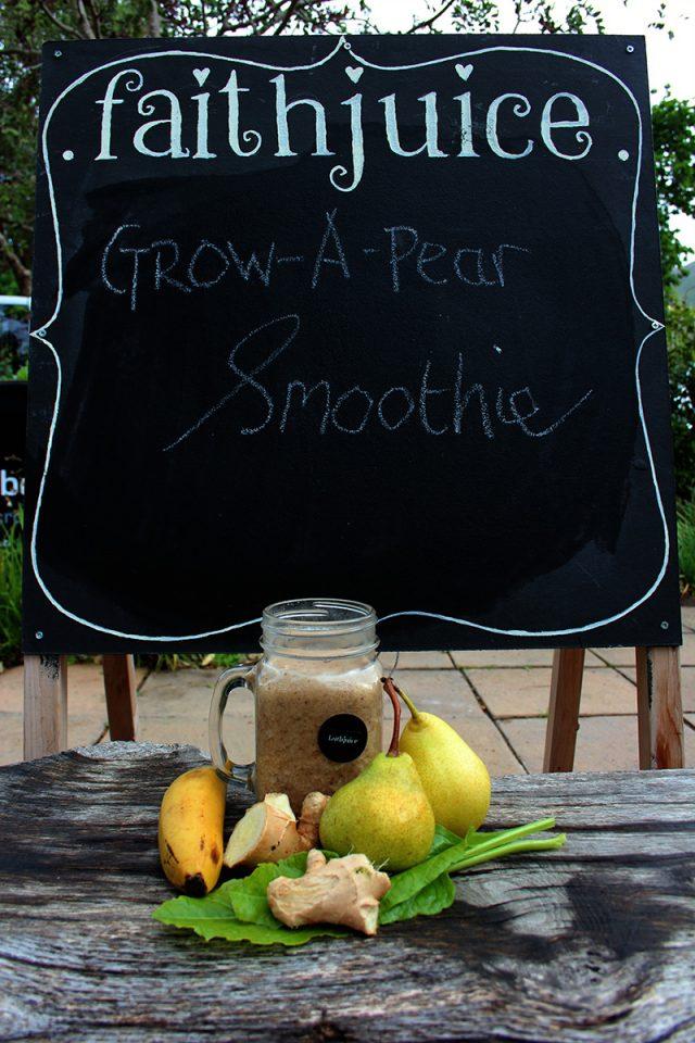 Grow A Pear Smoothie