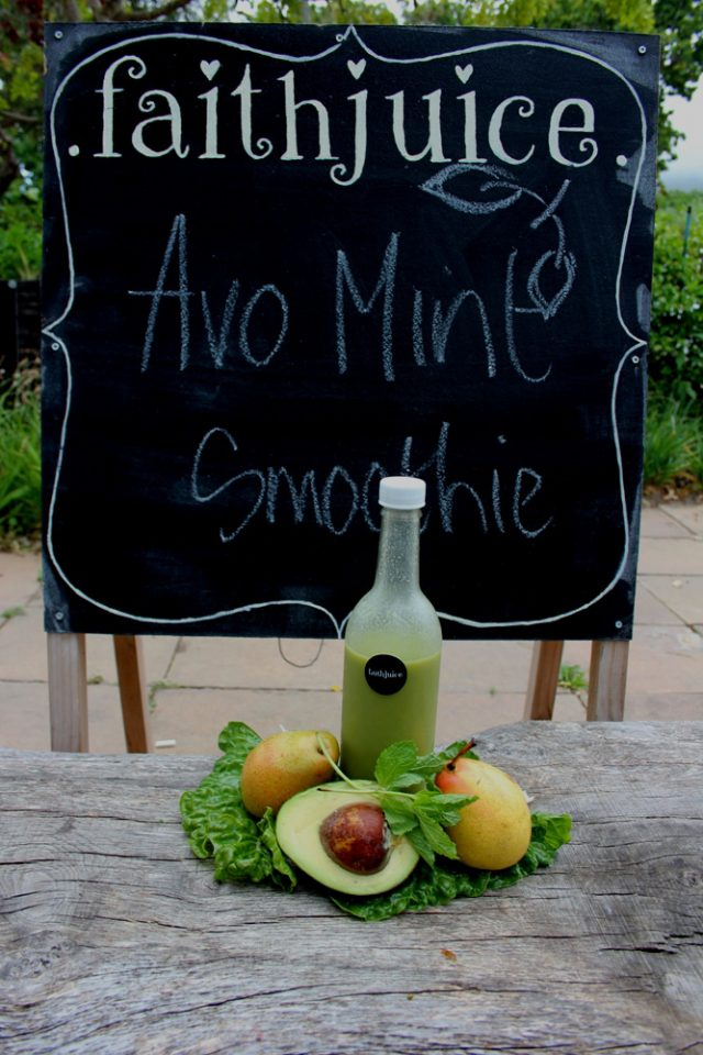 Avo & Mint Smoothie