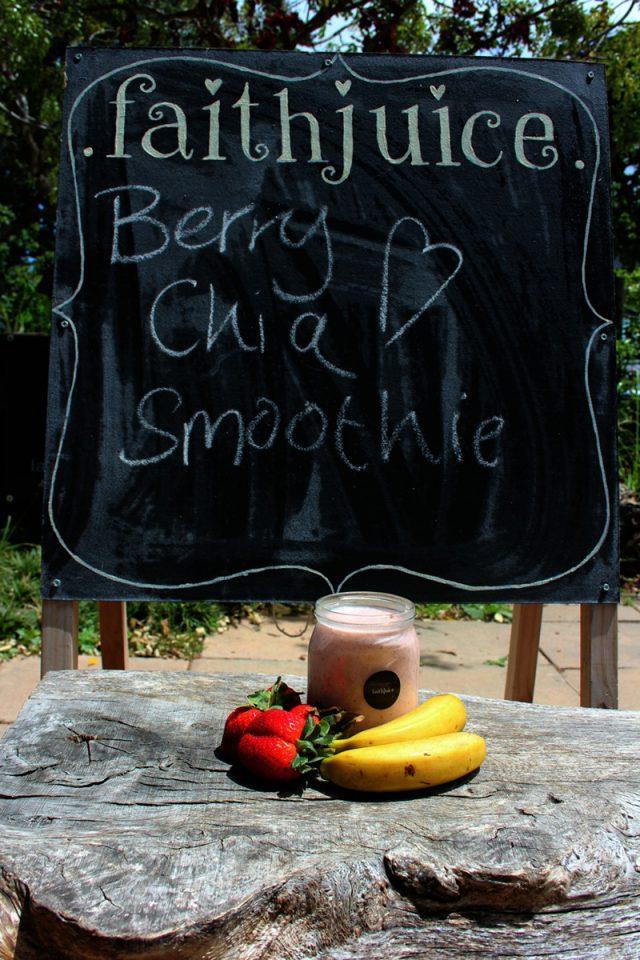 Berry Chia Smoothie