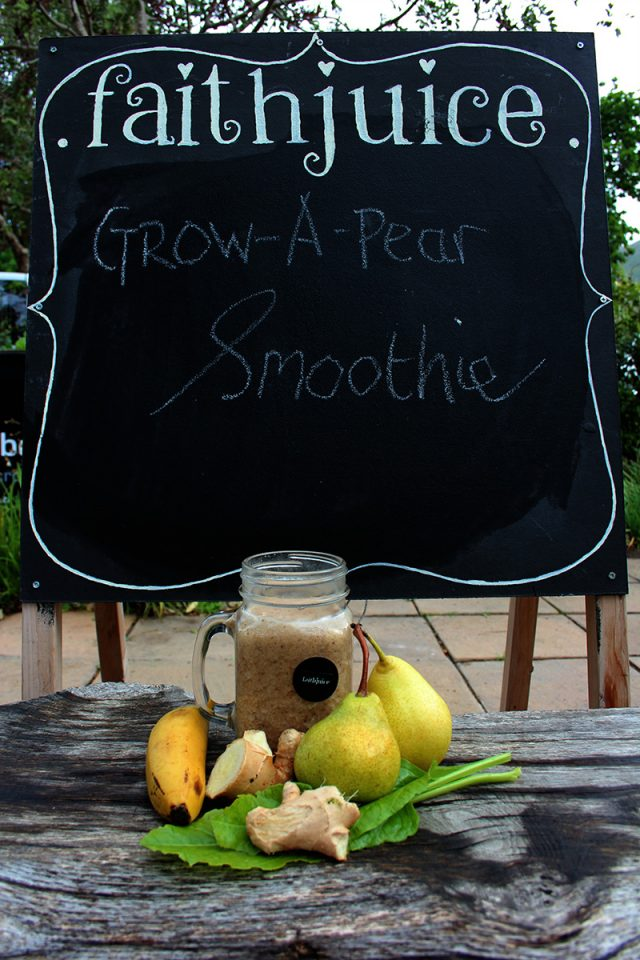 Grow A Pear Smoothie